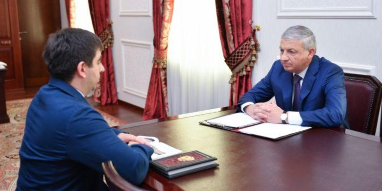 Вячеслав Битаров: Необходимо создать достойные условия для ведения бизнеса на территории Северной Осетии