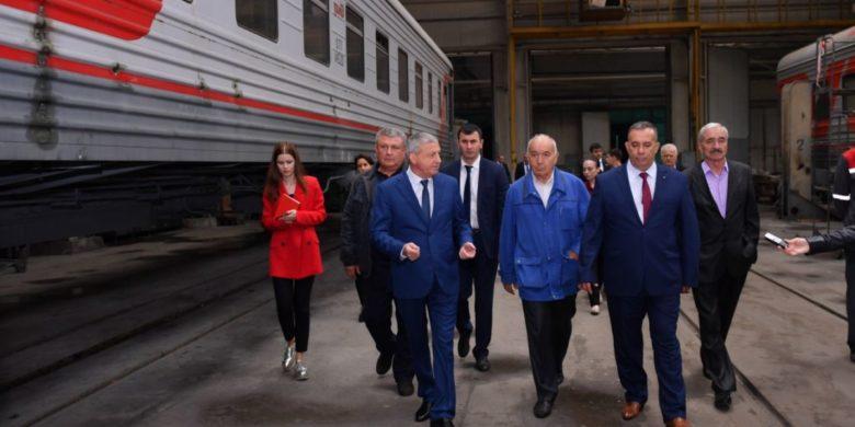 Руководство республики окажет поддержку Владикавказскому вагоноремонтному заводу