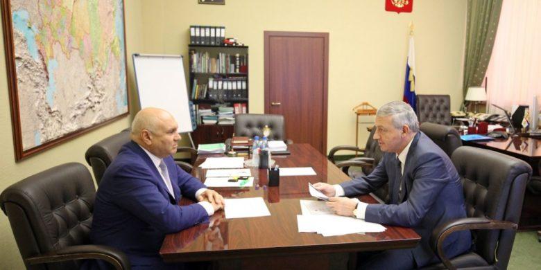 Вячеслав Битаров обсудил в Минсельхозе России развитие садоводства и производства спаржи в Северной Осетии
