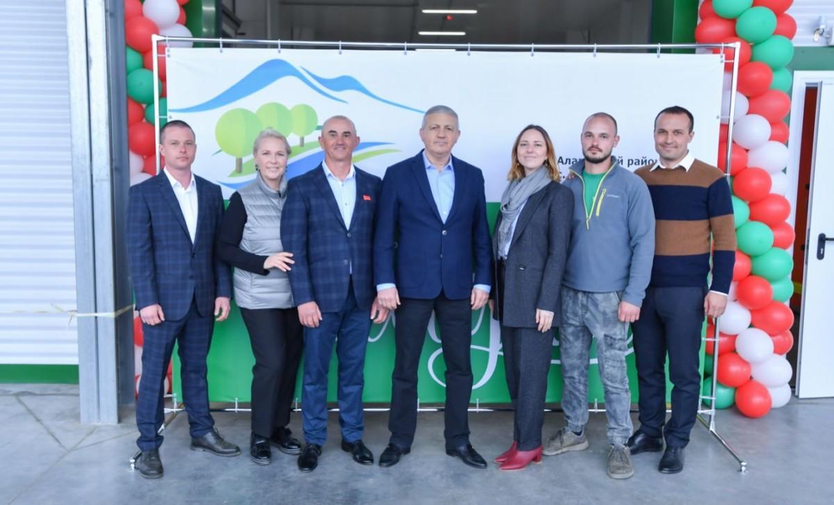 В Алагирском районе состоялось открытие фруктохранилища на 2 500 тонн